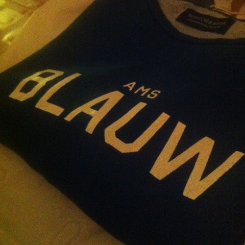 Still reppin' #ams #blauw #indigo #presents #girlfriend #lobie