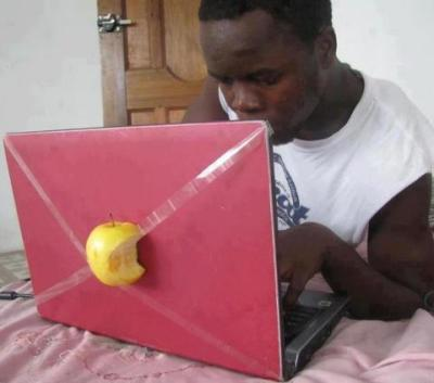 Apple Redbook Pro, unknown photographer