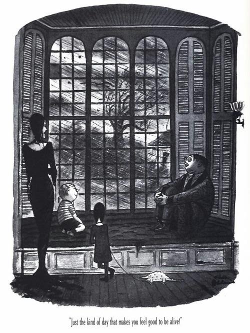 Charles Addams On Tumblr