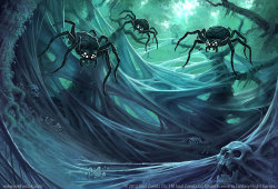 The Spider's Glade by ~joelhustak