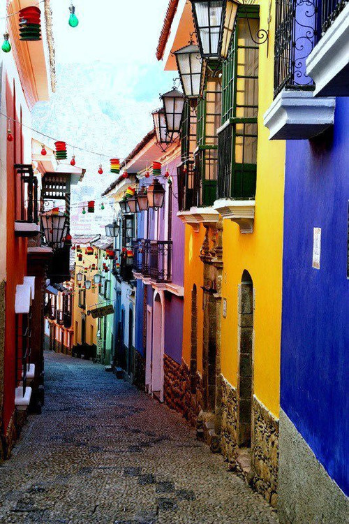 karina-uk:  Beautiful Routes IV, La Paz Bolivia on @weheartit.com - http://whrt.it/19fnuD0