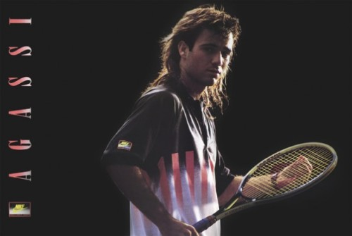 Don't call it a comeback.  Agassi returns to Nike.