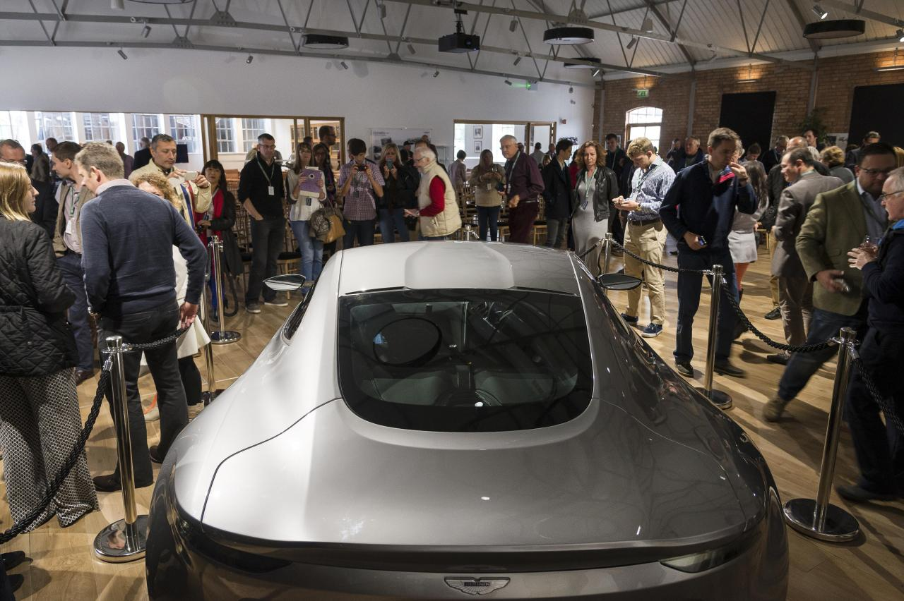 It Cars Db10 Tour Roars In To Aston Martin Works The
