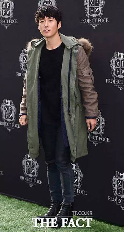 more jang hyuk project foce event launch credit as tagged source: fb