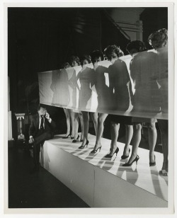 christinerod:  St Hilaire - Show Girls, 1959.