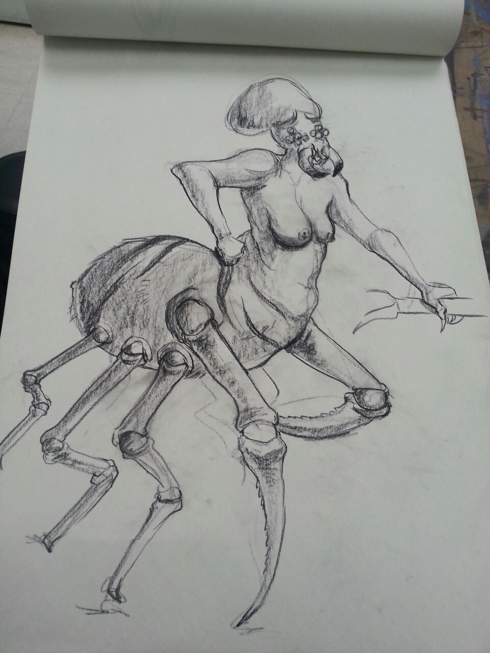 when life drawing gets boring…