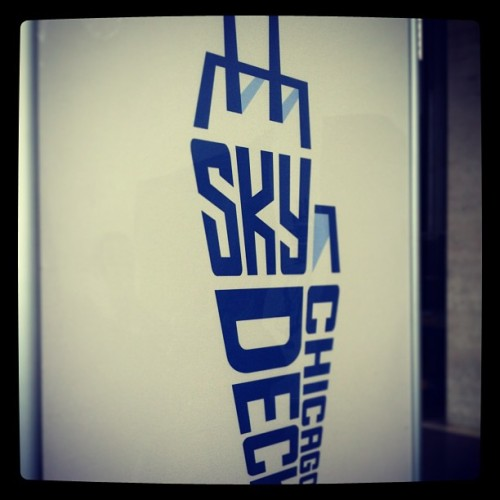 Excited! #skydeck #willistower #chicago
