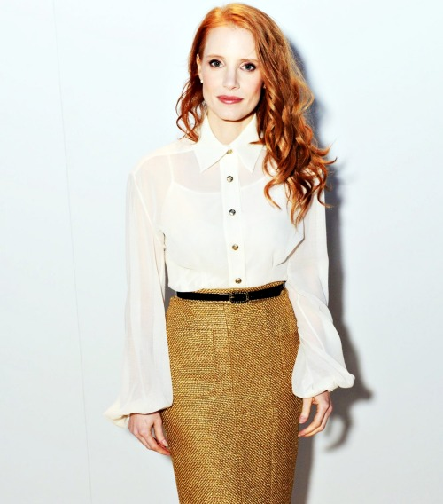 Jessica Chastain at the Vanity Fair and Chanel Dinner - 66th Annual Cannes Film Festival.