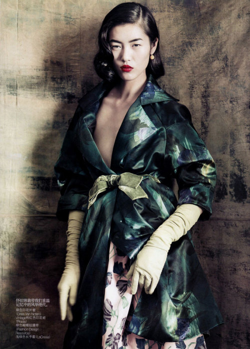 """Dream Away"" (+) Vogue China, September 2010 photographer: Paolo Roversi Liu Wen"