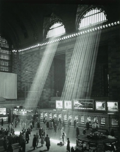 Brassaï  Grand Central Station. New York City, 1957 Also