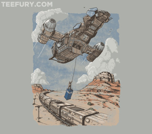 Firefly + Doctor Who (teefury-Shirt)