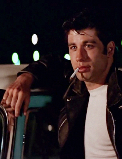John Travolta in Grease (1978)