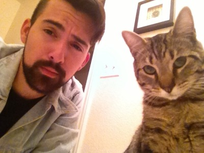 Can you feel the smarmy judgement coming from both my cat and I?