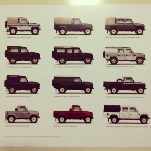 The Almighty Land Rover Defender