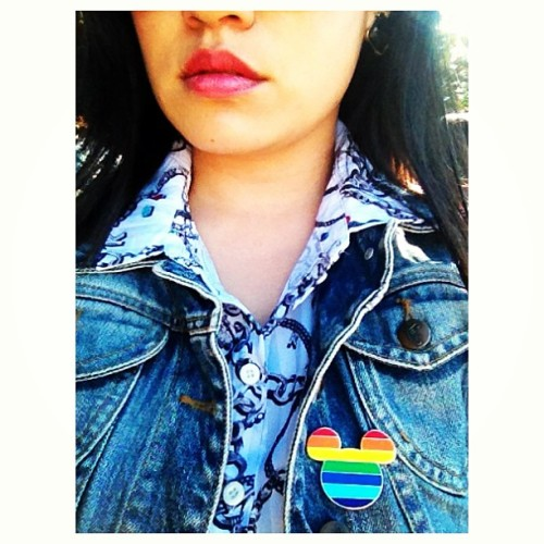 """""""bitch, don't kill my #pride. i can feel your energy from two planets away."""" (at Mission Dolores Park)"""