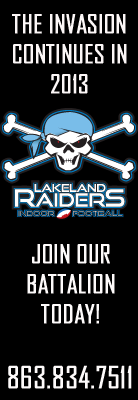 Southern Homes is proud to be a major sponsor of the Lakeland Raiders in 2013. Learn more about this local, yet national award winning, builder at http://www.MySouthernHome.com today!