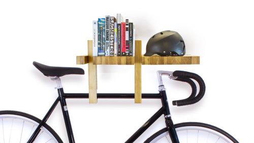 captosta:  Wooden Bookshelves  made of modular elements.  All the modules are designed to rotate around a central  axis providing support for the books. The bottom part  can be used as an hanging device. Multiple shelves can be endlessly combined to customize  your space.   FUSILLO