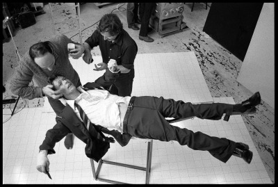 Brian Duffy - David Bowie - Behind the scenes of Lodger
