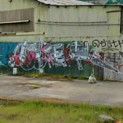 UTER Graffiti - East Bay, CA - More at www.EndlessCanvas.com - #uter #uterGraffiti #graffiti #charles #charlesCrew #yards #graffitiYards #eastBayGraffiti #BayAreGraffiti