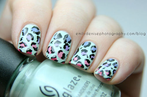 Leopard nails using some of the China Glaze Avant Garden shades! Head over to my blog to find out more.
