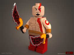 itlego:  God of War Lego Created by Samir Karmieh