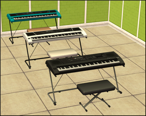 Piano keyboard S3-> S2 conversion