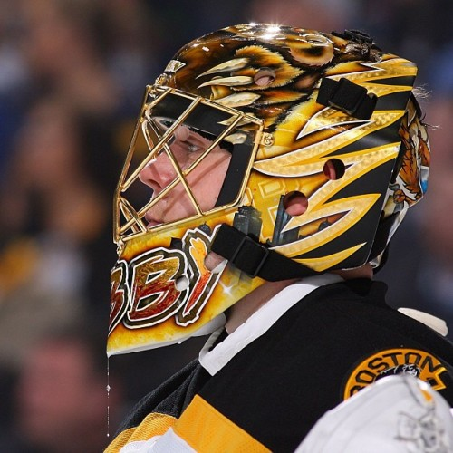 Anton Khudobin will be in net tonight for the B's vs OTT #nhlbruins