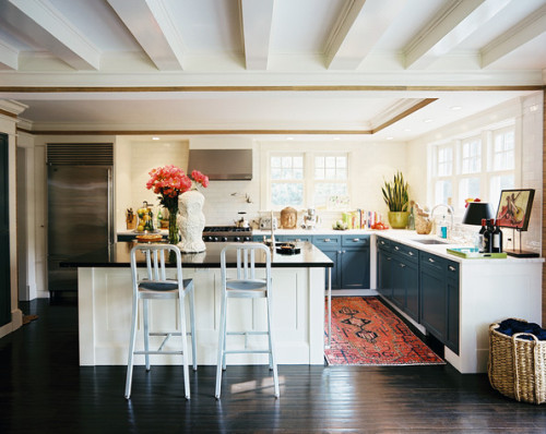 homeandinteriors:  Kitchen inspiration from Lonny Magazine