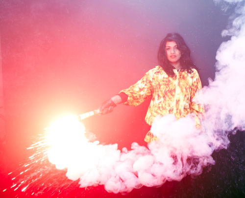 M.I.A. by Tom Oxley for NME Magazine