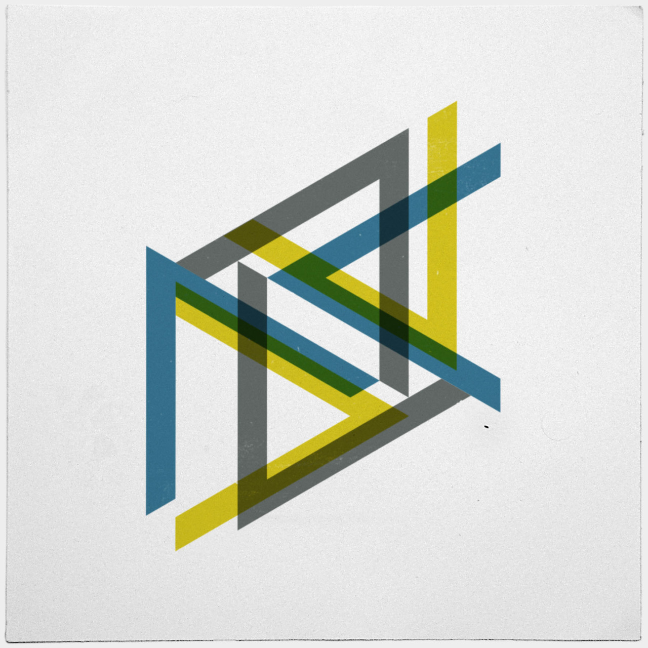 geometrydaily:  #443 Indecisions – A new minimal geometric composition each day