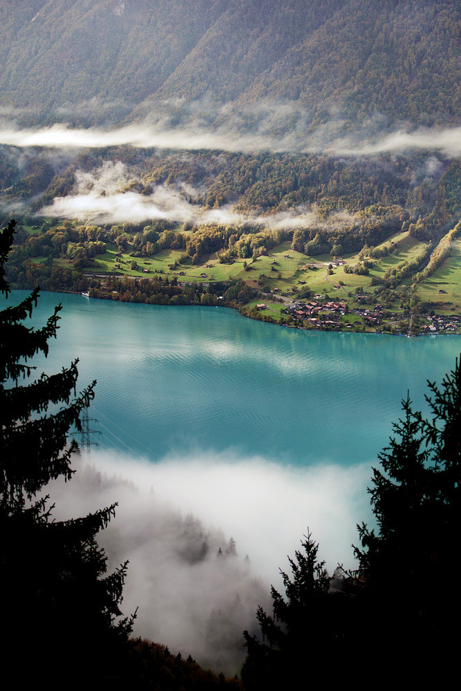 refluent:  Brienz - Switzerland (by Patryk Sadowski)