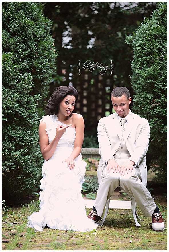 THIS. Stephen Curry wedding photo.