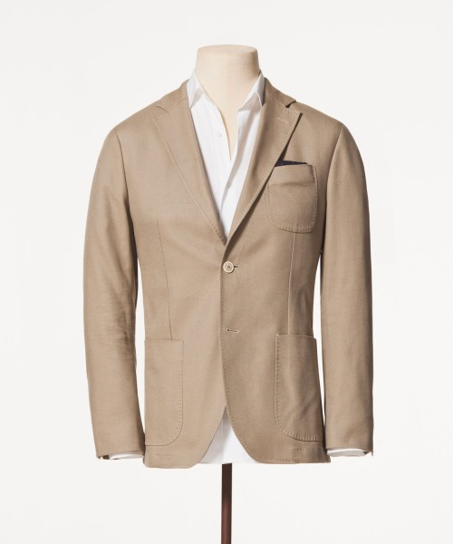 Want - Massimo Dutti Piquet Cotton Blazer