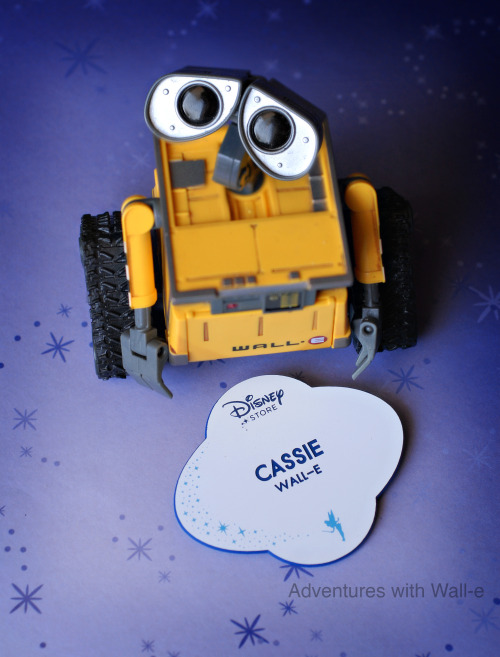 My favorite character is… Wall-e! :)