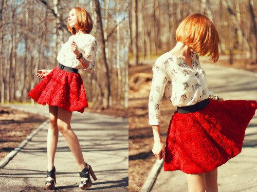 stunning looks! they call me The Wild Rose (by Lidia ♫♪♫)