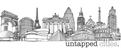 Downtown Doodler: Untapped Cities World Landmark Skyline Logo http://bit.ly/10lsANH