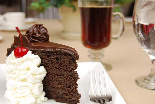 foodescapades:  Chocolate Cake