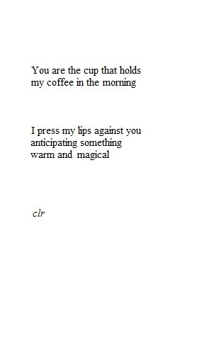 allmylovedarling:  Coffee.