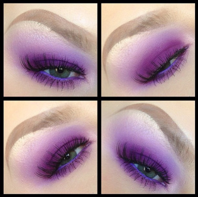 sugarpillcosmetics:  Perfect purple look by Cheeksmakeup using Sugarpill Poison Plum and Tako eyeshadows! Beautiful blending, and looks amazing with her gorgeous green eyes! http://instagram.com/p/XI5d6pRREu/