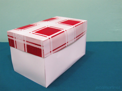 Creative Gift Box Design One of my last projects for my Printing Process (PRNTPRO) class. The brief is to design a gift box for a guy to give to his date on Valentine's Day. Since this guy has to attend classes in the morning, he doesn't want anyone to tease him about his gift. The box will contain short or no-stem flowers and a half-pound bag of M&Ms, should have a divider for these two things, and be designed on all sides. Read more