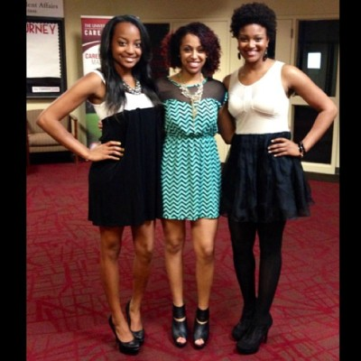 NCNW end of the year Banquet. @ariyannacadence @_lindsaaay