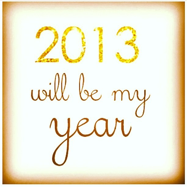 Happy 2013! I wish for all of us the awareness to recognize how amazing our existence is and to continue growing into the individuals we've been bestowed to become. #HappyNewYears #2013 #NYE #love #happiness