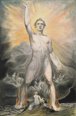 William Blake Angel of the Revelation c. 1803-5