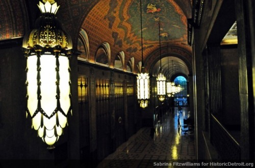 Arcade, Fisher Building, Detroit, MichiganPhoto by Sabrina Fitzwilliams Historic Detroit The beautiful arcade.