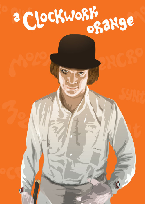A Clockwork Orange by Domanic Li for Cult Cinema Sunday
