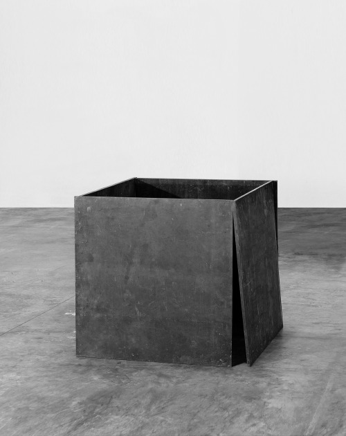 sulphuriclike:  Richard Serra_House of Cards_1969