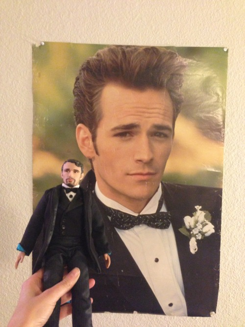 jamesfrancodoll:  90'S JAMES DEAN, LUKE PERRY, AND ME