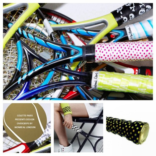 New Tennis Grip? MONREAL LONDON #colette #colettestore #monreallondon #tennis