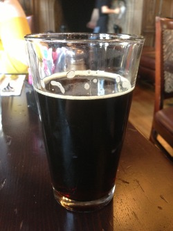 Devil's Canyon Full Boar Scotch Ale on tap at Freehouse. A 2 of 4. Nice color and lacing, and quite a bit of roasted maltiness up front. Relatively thin body and some slightly weird yeasty notes. Has the flavor profile you'd expect from a scotch ale - but the thin body is a bit lackluster.