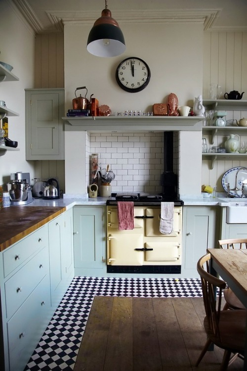 acoustic-garden:  Vintage kitchen…